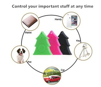 Dog Pets Smart GPS Tracker Anti-lost Alarm Tag Wireless Bluetooth Tracker Child Wallet Bag Key Finder Locator Anti Lost Alarm image