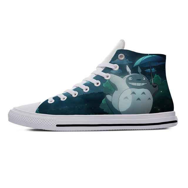 TOTORO THEMED HIGH TOP SHOES (19 VARIAN)