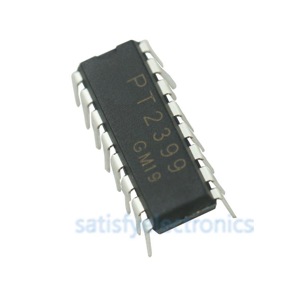 1pcs/lot PT2399 DIP16 PT2399 DIP DIP-16 New And Original IC
