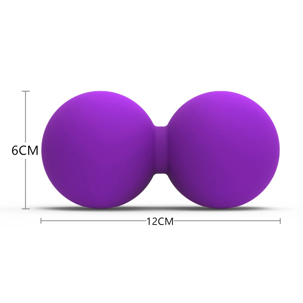 High-Density Lacrosse Exercise Ball for Gym/Yoga/Fitness to Relieve Stress 1