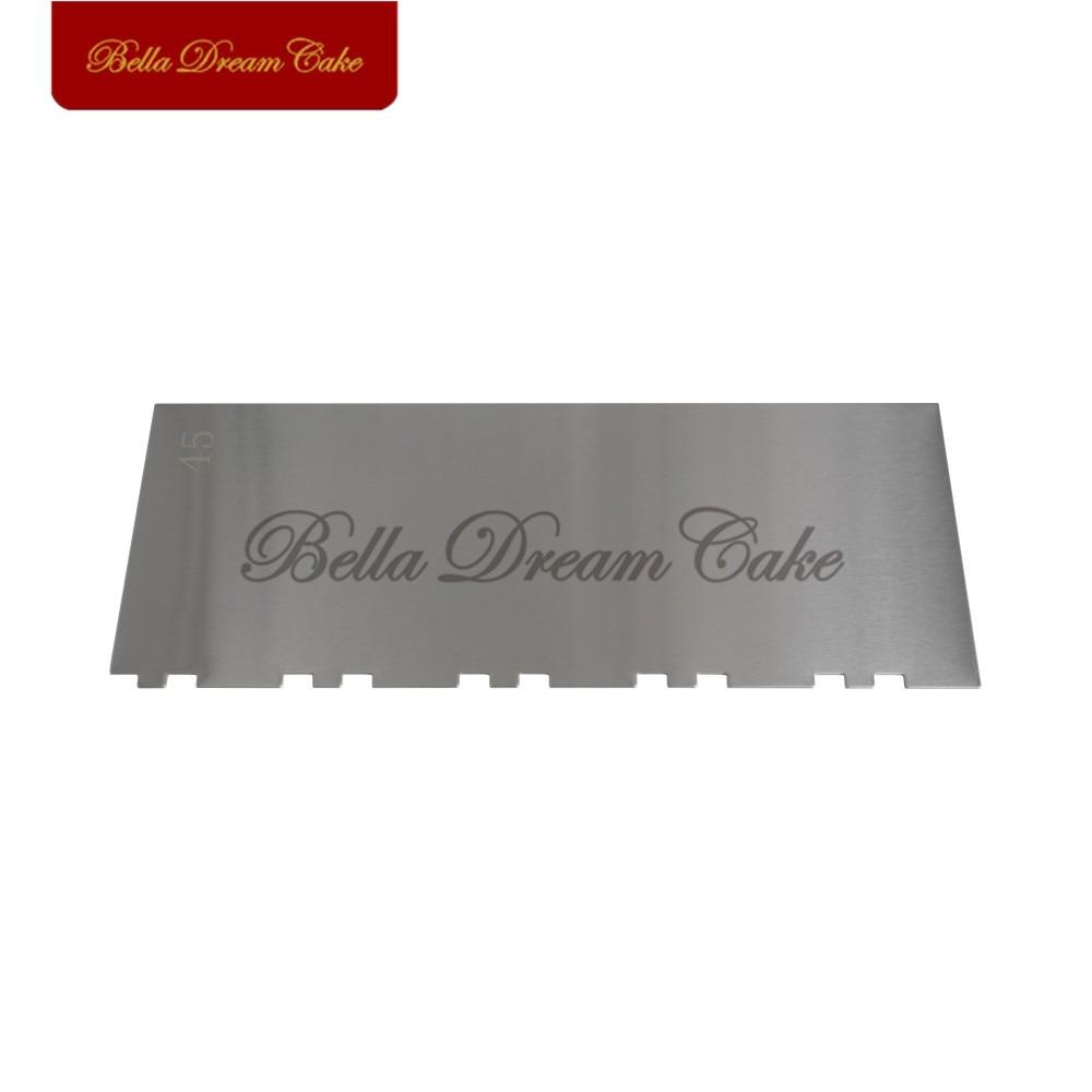 Купить расческа для торта из нержавеющей стали в полоску 10 дюймов
