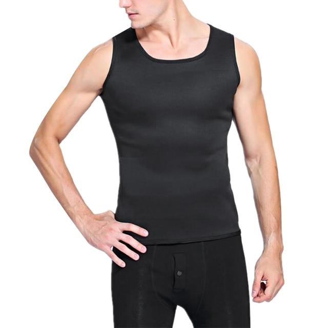 Slimming Belt Belly Men Slimming Vest Body Shaper Neoprene Abdomen Burning Shapewear Waist Sweat Corset Weight Dropshipping-Xxl 4
