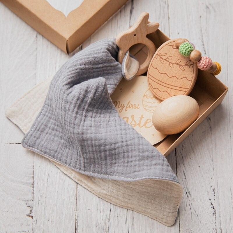 envoltório faixa para bebê, pulseira de chocalho