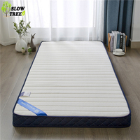 Slow Forest Knitted Memory Cotton Latex Mattress Tatami Mat 6cm Thickness Student Dormitory Bed Mat Single Mattress