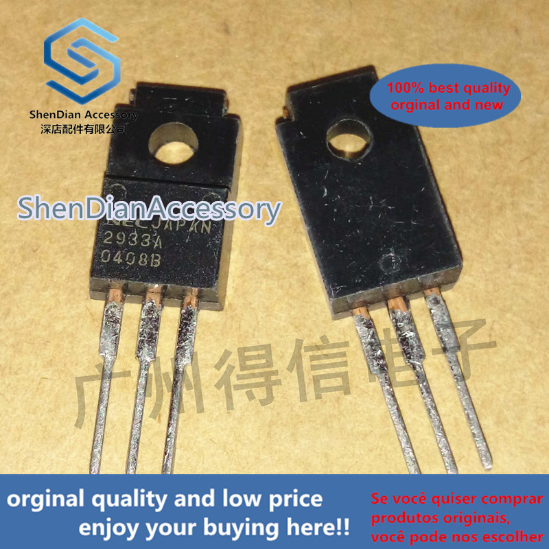5pcs 100% Orginal New UPC2933A 2933A 3.3V Three-terminal Regulator TO-220F Made In Japan  Real Photo