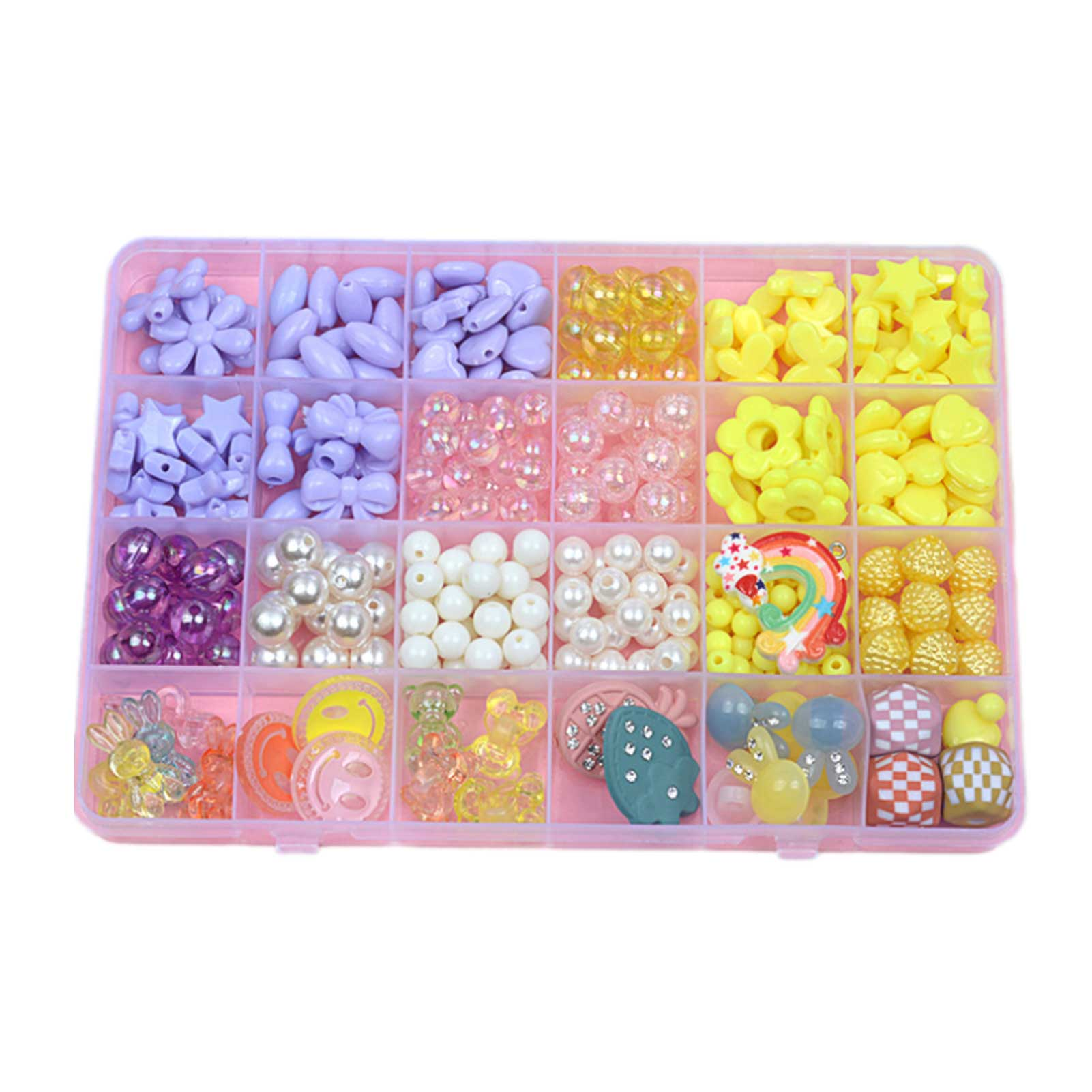 Diy Bead Set Multicolor Czech Glass Seed Spacer Beads Austria Crystal Round Beads For Kids Jewelry DIY Making Accessorie