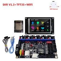 3d printer touch screen MKS TFT35 + SKR V1.3 monitor plate DIY starter unit best 3D printer upgrade controller for ender 3 cr 10|3D Printer Parts & Accessories|   -