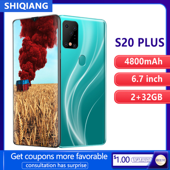 SOYES S20 Plus Mobile Phone Android Smart Face &Fingerprint Unlock 6.7inch 2GB+32GB 2 Sim Card Smartphone 4800mAh - discount item  58% OFF Mobile Phones