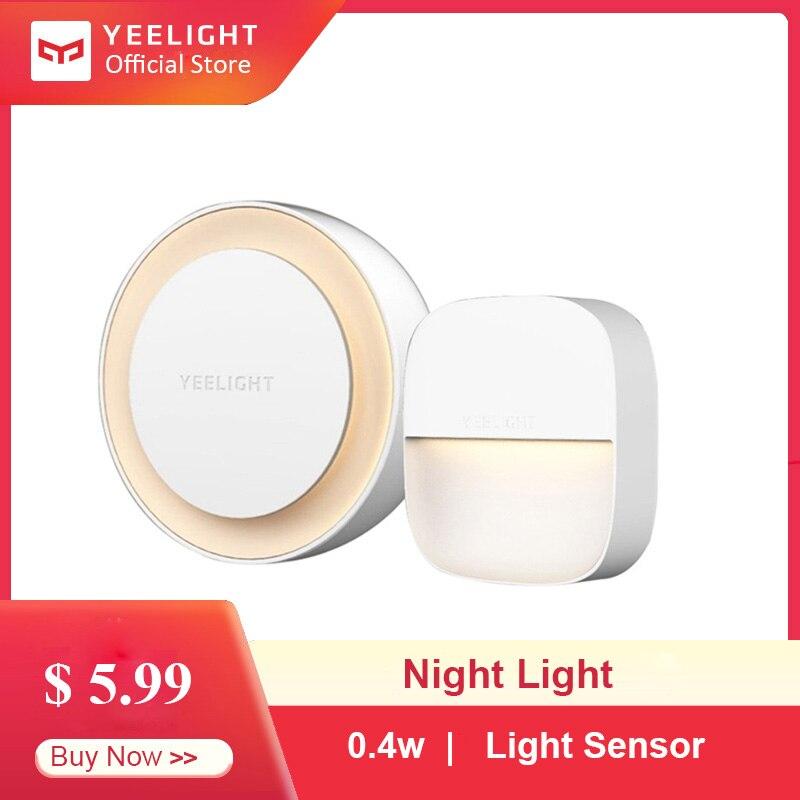 YEELIGHT Smart Nachtlicht Intelligente Anerkennung Energiesparende Beleuchtung Niedrigen Power Verbrauch Licht Sensor Für Pflege