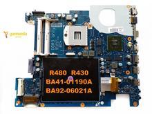 Original für Samsung R480 R430 laptop motherboard R480 R430 BA41-01190A BA92-06021A getestet gute freies verschiffen