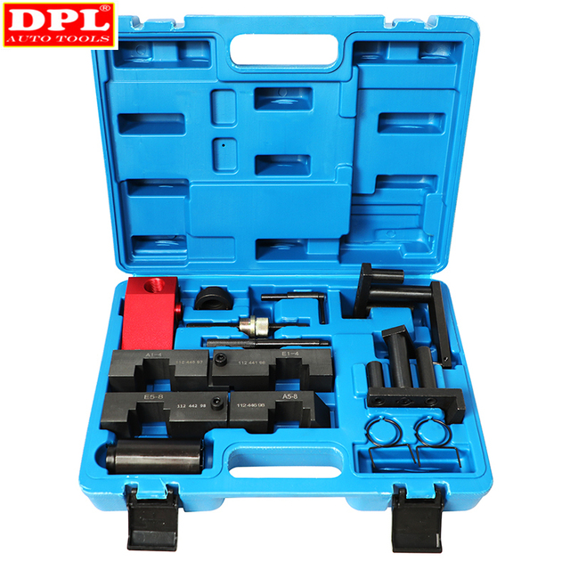 מנוע תזמון גל זיזים נעילה יישור הגדרת כלי ערכת עבור BMW M40 M42 M50 M60 M62 M70 ST0203