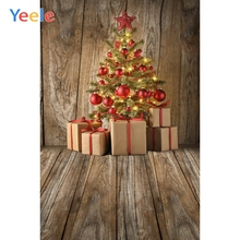 Yeele Christmas Photocall Chalet Decor Pine Gifts Photography Backdrops Personalized Photographic Backgrounds For Photo Studio