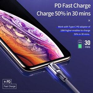Image 2 - Rock 18W MFi PD 유형 C 번개 충전 케이블 iPhone 12 Pro Max 12 Mini 11 Pro Xs X 8 Plus Macbook USB C 충전기 케이블