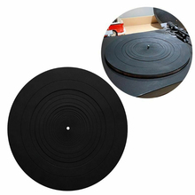 LP ซิลิโคน Ultra Thin Pad Revolving เปลี่ยนแผ่นเสียง Disc Anti Static Anti Vibration ลดแรงกระแทก