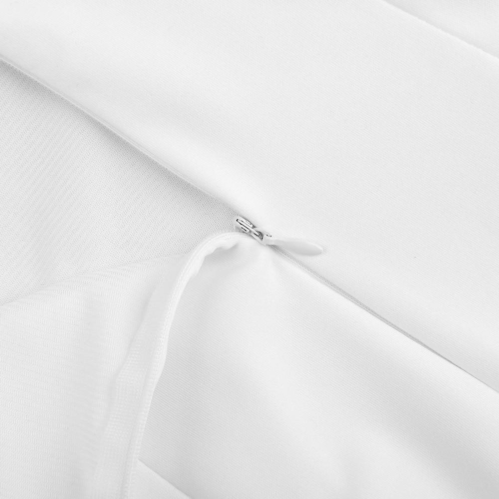 Square Backless HI1065-White Dress 13