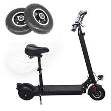 200x50 Electric Scooter Solid Wheel City Road  No Air 8 Inch Scooter Wheel With Solid Tire chaoyang 80 60 6 10inch 1200w motor electric scooter tire wheel for flj c11 t11 e scooters road tire front wheel rear motor