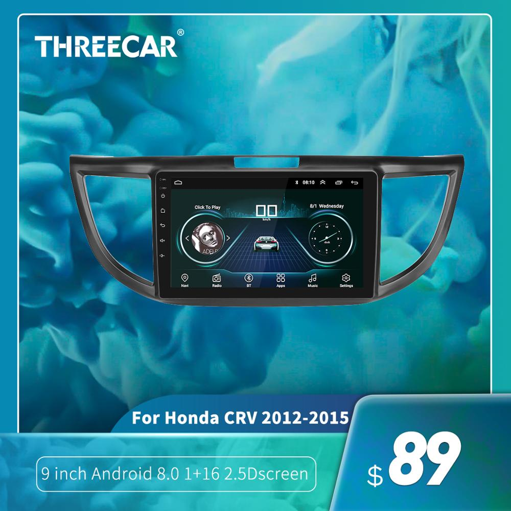 2G+16G Android 8.1 Car Radio Multimedia Audio Player Navigation <font><b>GPS</b></font> 2Din For <font><b>Honda</b></font> <font><b>CRV</b></font> 2012 2013 <font><b>2014</b></font> 2015 2016 Car Radio Stereo image