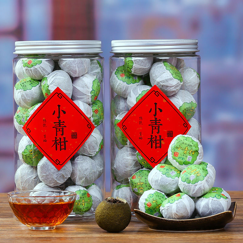 2021 Fujian Puer Tea Orange Peel Tea for Anti-fatigue and Clear Heat