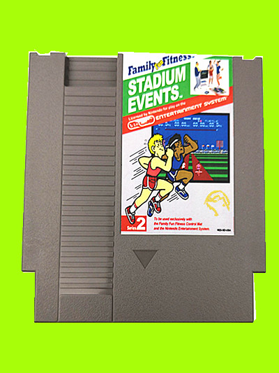 Купить с кэшбэком Drop Shipping Stadium Events Region Free 72 Pins Game Card For 8 Bit Game Player