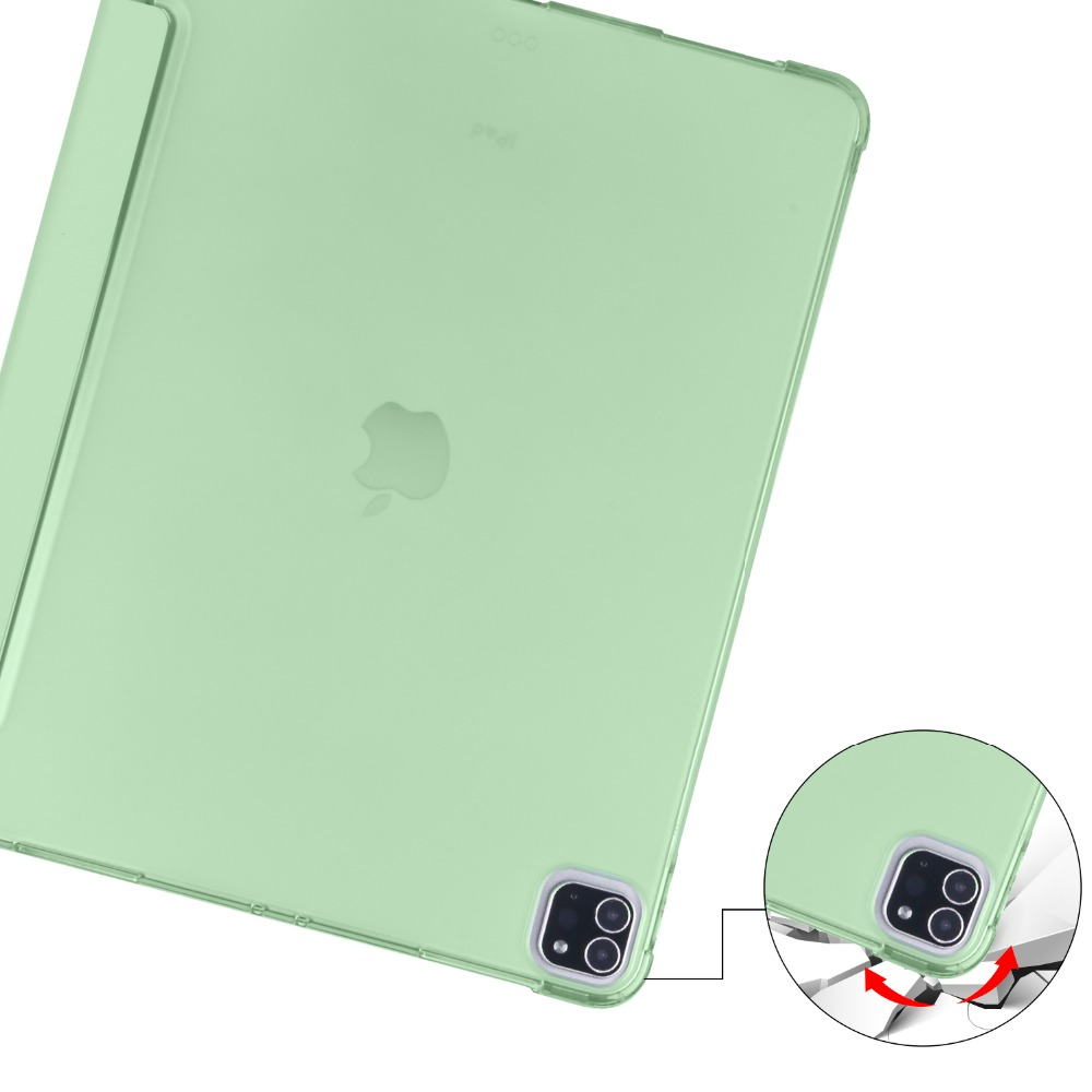 TPU for Pencil Shell iPad Soft For Pro 12 9 Holder Case with iPad 2018 Apple 2020 Cover