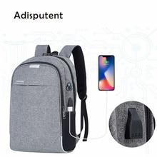 Laptop Backpack USB Charging 15.6 inch Anti Theft Women Men