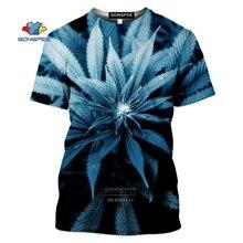 Tshirt Men Marley Weed Harajuku 3d-Print Casual SONSPEE A2213 Tee Hip-Hop Cbob Man's