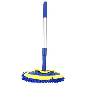 Image 4 - Escova de lavagem de carro telescópica alça longa limpeza mop escova de limpeza de carro chenille vassoura acessórios automóveis