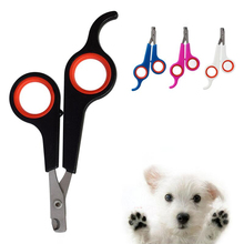 20 Pcs Multi-colors Pet Cat nail scissors Dog Nail Clippers Fashion Style Stainless Steel Grooming Scissors