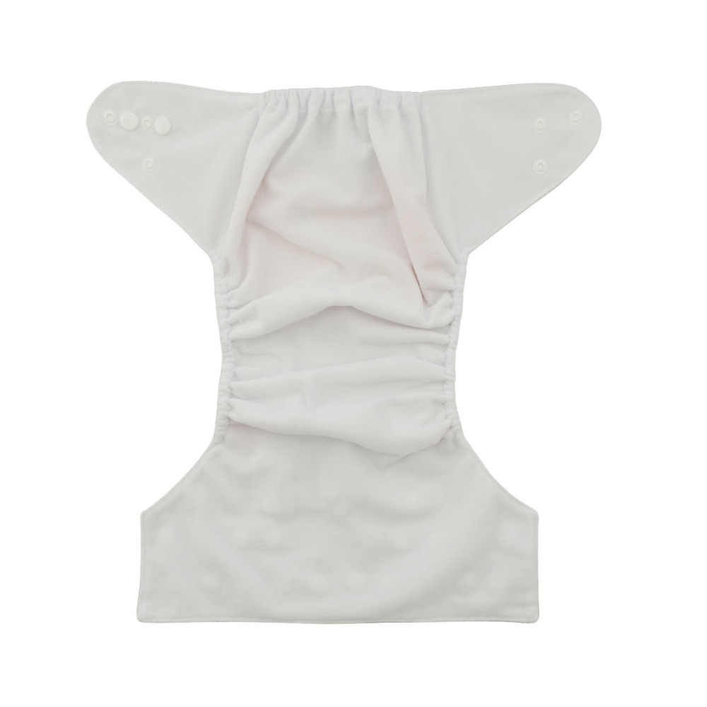 [Sigzagor] Kantong Bayi Popok Kain Nappy Reusable Mudah Dicuci Adjustable Mcrofleece Dalam 3Kg-15Kg 8lbs-36lbs