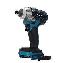 Drillpro 18 فولت الكهربائية فرش تأثير وجع اللاسلكي 1/2 مفتاح بانة أداة السلطة قابلة للشحن لبطارية ماكيتا DTW285Z