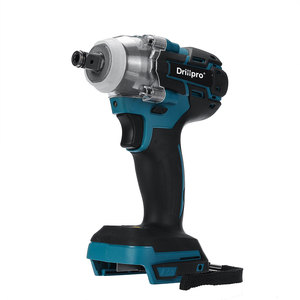Image 1 - Drillpro 18V Electric Brushless Impact Wrench Cordless 1/2 Socket Wrench Power Tool Rechargeable For Makita Battery DTW285Z