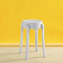 Nordic INS Creative Plastic Stool Restaurant for Dining Stool Modern Restaurant Home Bedroom Living Room Study Plastic Stool living room plastic abs stool retail reading room bedroom notebook computer stool black red green orange color free shipping
