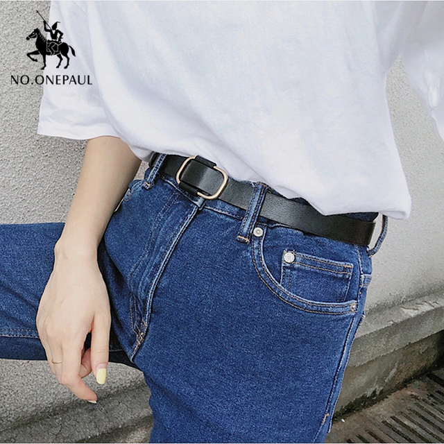 New fashion designer ladies luxury authentic leather belts 4