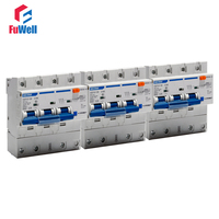 Leakage proof DZ47LE 125 Circuit Breaker 3P Overcurrent Protection RCBO 80A 125A Residual Current Operated Circuit Breaker