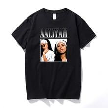 New Arrival 2021 Harajuku Graphic Tees Men Streetwear Orionhbt Aaliyah T Shirts For Men Vintage Unisex Top Cotton Tshirt EU Size