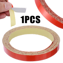 1 Roll 9M DIY Decorative Safety Reflective Tape Red Warning Strip Fit For Car Truck Bicycle Motorcycle