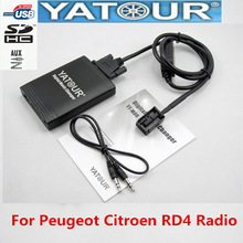 Changer Yatour Bluetooth-Adapter Digital Music Peugeot YT-M06 Citroen Radio Usb Mp3