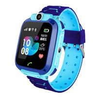 Q12 montre intelligente LBS Kid smartwatch bébé montre 1.44 pouces pas étanche Chat vocal GPS localisateur localisateur moniteur Anti perte