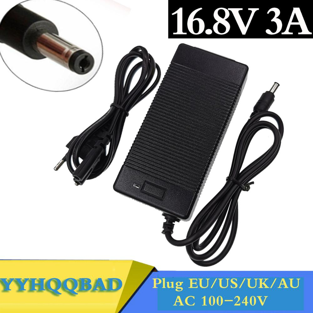 16 8V 14 4V 3A 16 8V 3A lithium li-ion battery charger for 4 series 14 4V 14 8V lithium li-ion polymer battery pack good quality