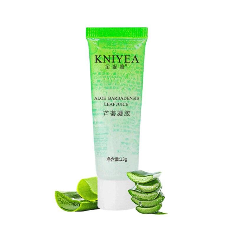 99% Pure Natural Aloe Vera Soothing Acne Gel Primer Lasting Moisturiser Sleep No Wash Mask Face Care 13g TSLM1