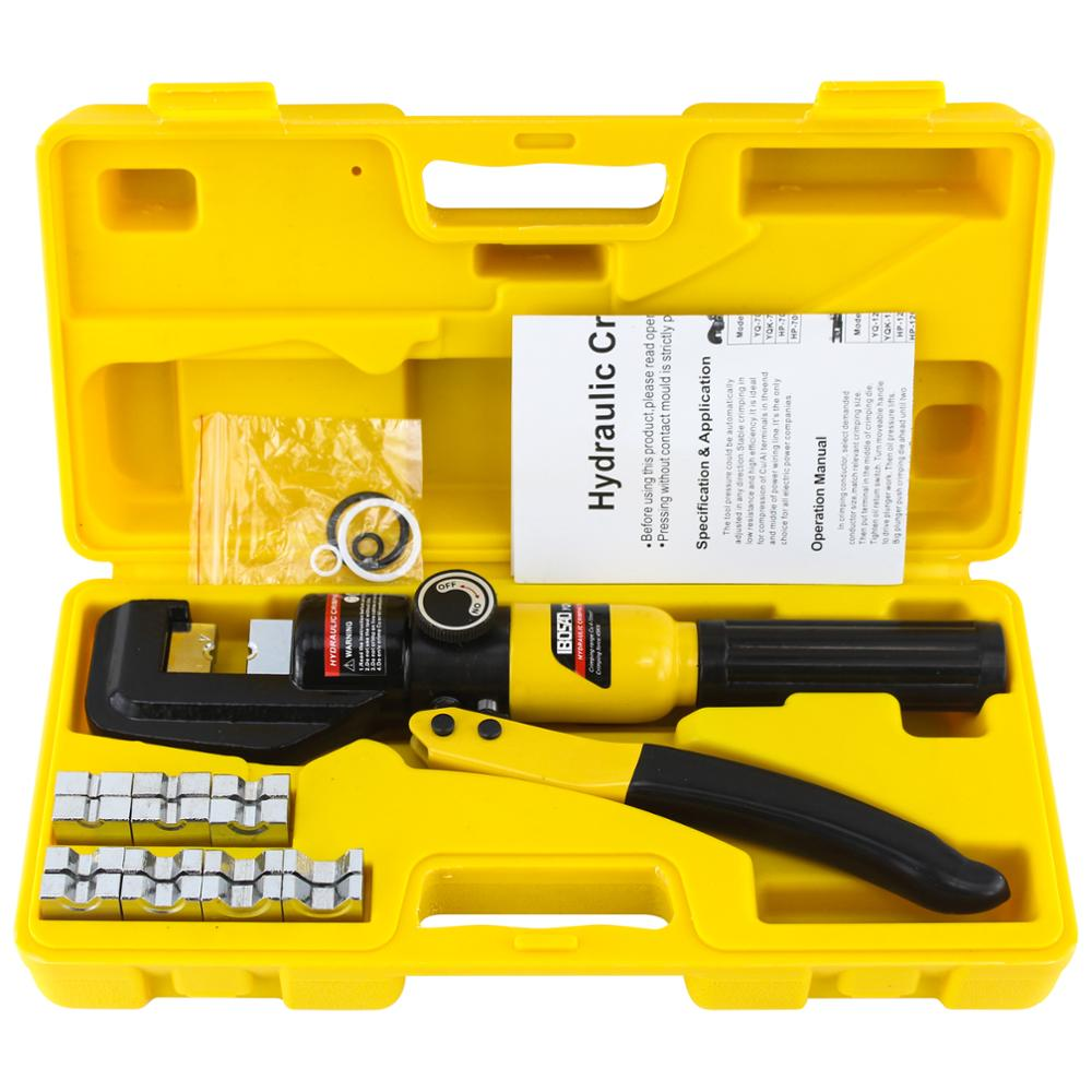 Plier Cable Crimper Warehouse Hydraulic-Compression-Tool YQK-70 Pressure-5-6t 4-70mm2