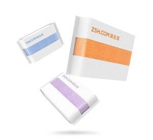 Image 4 - Original Youpin ZSH หนุ่มผ้าเช็ดตัว Polyegiene Antibacterical 100% ผ้าฝ้ายสูงดูดซับผ้าเช็ดตัวผ้าขนหนู Hand Hand 5 สี