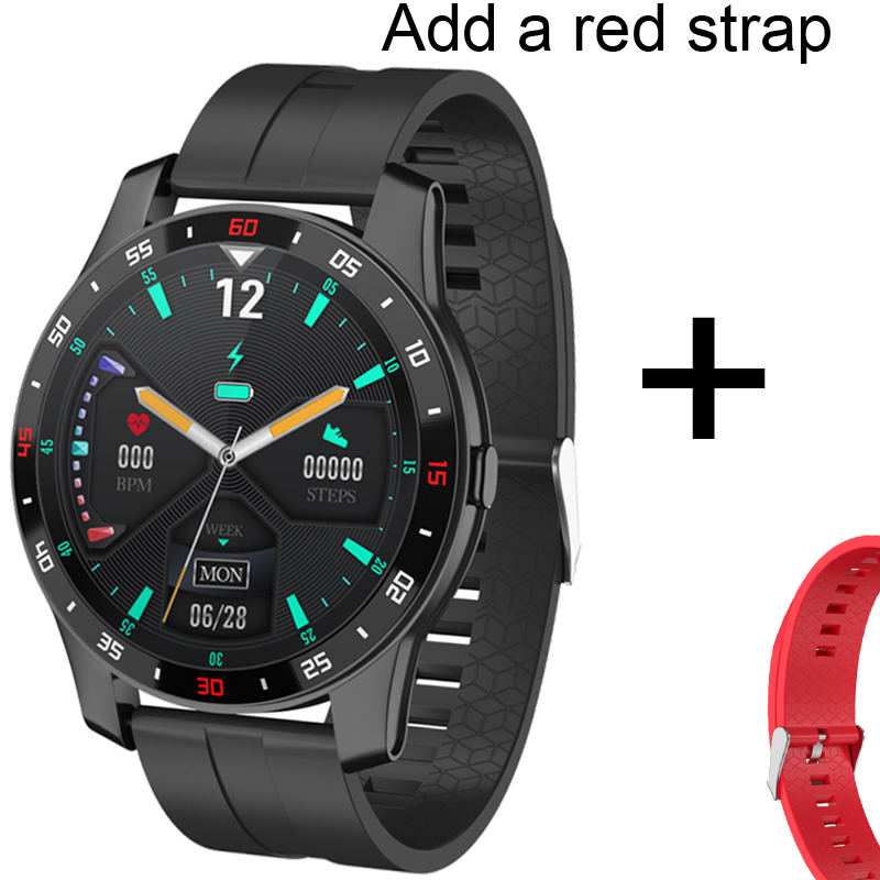 Add red strap