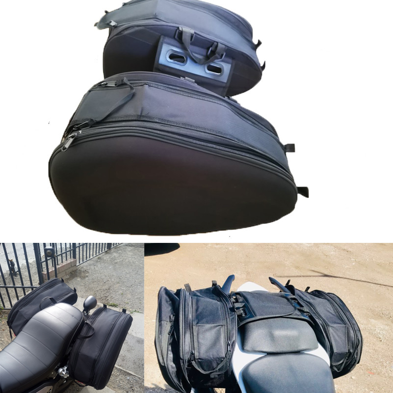 Motorcycle Waterproof Racing Race Moto Helmet Travel Bags Suitcase Saddlebags with Rider Backpack Tail bag Men's motorbike bags