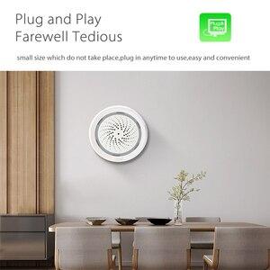 Image 3 - Датчик температуры и влажности с Wi Fi, датчик окружающей среды с сигнализацией, питание от USB, работает с Alexa Echo Google Smart Home IFTTT
