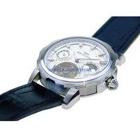 Sugess mens 시계 플라잉 기계식 뚜르 비옹 무브먼트 skelenton luxury 24 시간 파워 리저브 회전 목마 시계
