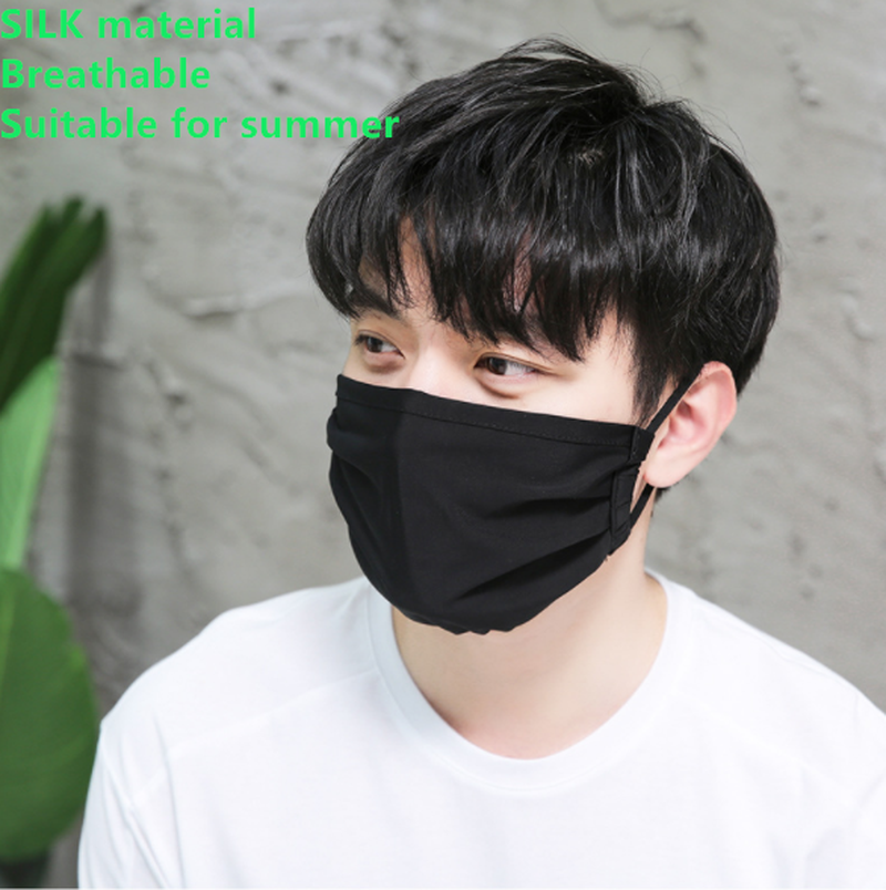 Adult Korean Dust-Proof Warm Mask Autumn Winter New Cotton Dimensional Printing Cartoon Adults Silk Mask Beauty Health