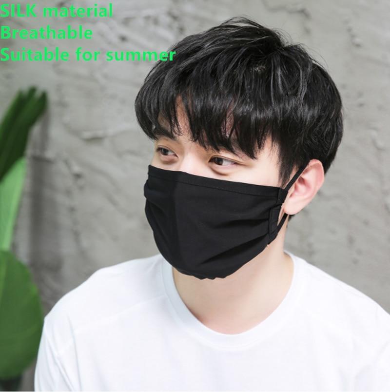 Adult Korean Dust-Proof Warm Mask Autumn Winter New Cotton Dimensional Printing Cartoon Adults Silk Mask Beauty Health
