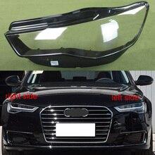 Koplamp Transparante Cover Lampenkap Koplamp Shell Lens Koplamp Glas Lamp Shell Glas Voor Audi A6L C7 2016 2017 2018