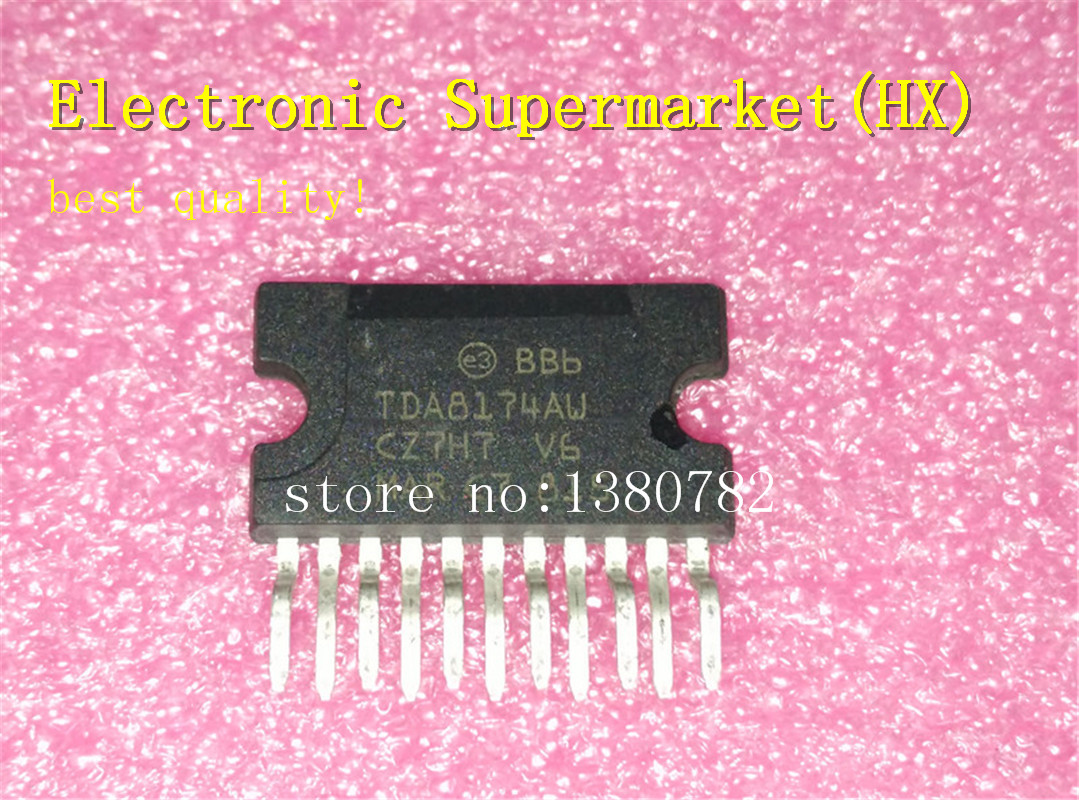 Free Shipping 50pcs/lots  TDA8174AW  ZIP  New original  IC-in Integrated Circuits from Electronic Components & Supplies    1